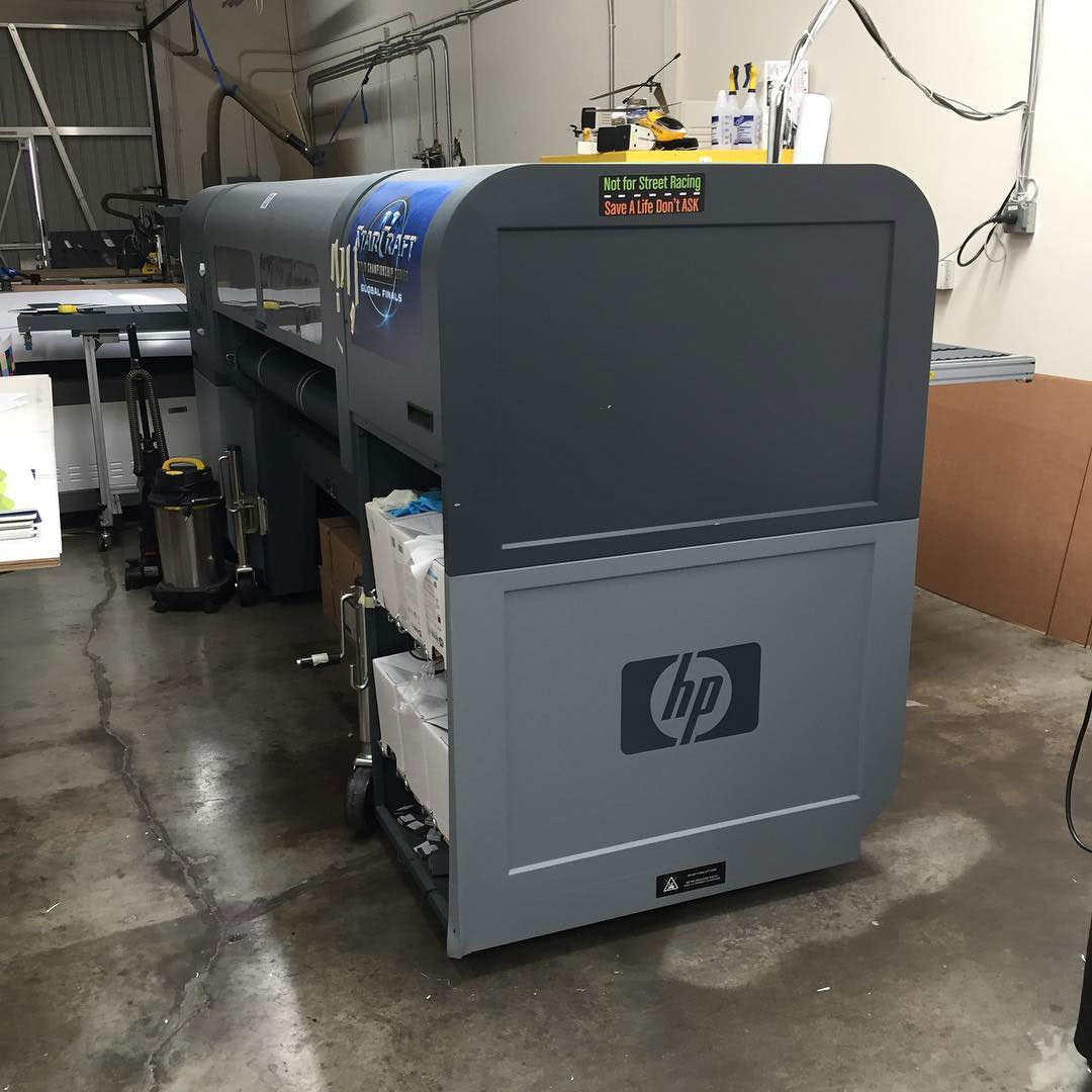 HP Scitex FB500 on LIPLA inks